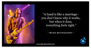 Nuno Bettencourt Quote