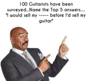 Before I sell my guitar