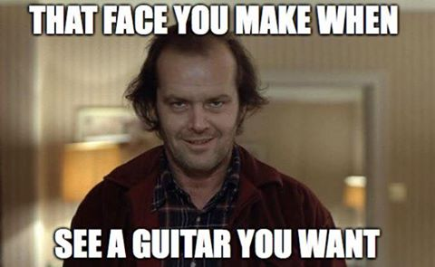 The Shining guitar