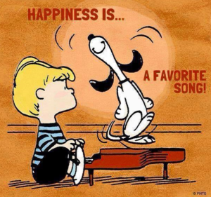 Peanuts Snoopy Happiness is