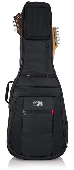 two 2 guitar gig bag