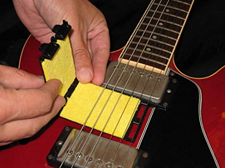Guitar string cleaner. Keep strings fresh.