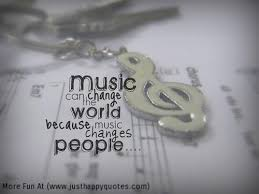 Music changes people