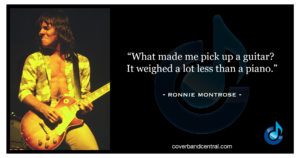 Ronnie Montrose quote