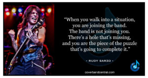 Rudy Sarzo quote