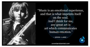 Greg Lake quote