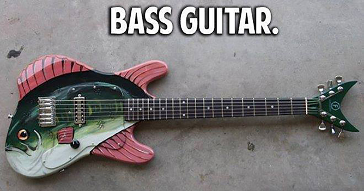 30+ Funny Bass Player Memes -